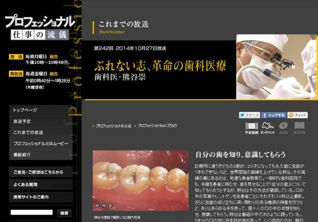 プロフェッショナル熊谷画像